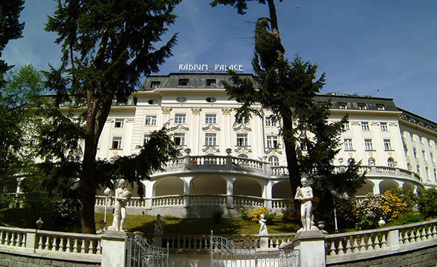 Hotel Radium Palace in Jachymov 1