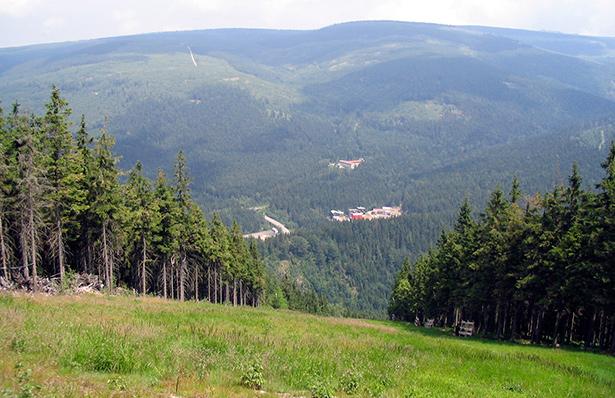 hoogste berg tsjechie